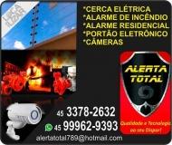 ALERTA TOTAL ELETRICISTA / INSTALAÇÃO DE ALARMES / PORTÕES ELETRÔNICOS