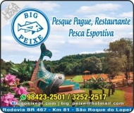 BIG PEIXE PESQUE PAGUE E RESTAURANTE