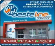 OESTELINE TELECOM E INTERNET ASSISTÊNCIA TÉCNICA EM INFORMÁTICA