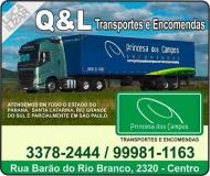 Q & L PRINCESA DOS CAMPOS TRANSPORTES E ENCOMENDAS