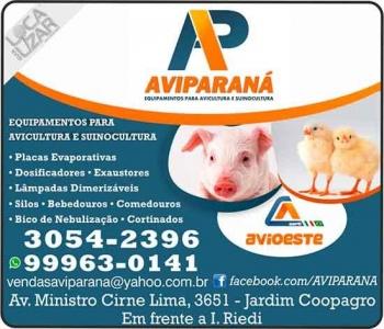AVIPARANÁ EQUIPAMENTOS PARA AVICULTURA E SUINOCULTURA / AVIOESTE
