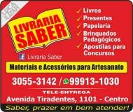 SABER LIVRARIA E PAPELARIA