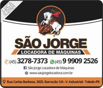 SÃO JORGE LOCADORA DE MÁQUINAS / FERRAMENTAS