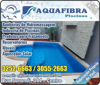 AQUAFIBRA PISCINAS
