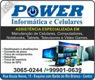 POWER ELETRÔNICA INFORMÁTICA E CELULARES