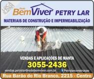 PETRY LAR MATERIAIS DE CONSTRUÇÃO IMPERMEABILIZAÇÃO BEM VIVER MATERIAIS DE CONSTRUÇÃO