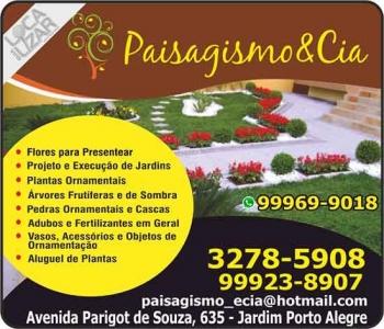 PAISAGISMO & CIA FLORICULTURA