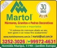 MARTOL MARMORARIA / MÁRMORES / GRANITOS