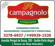 CAMPAGNOLO RESTAURANTE / EVENTOS