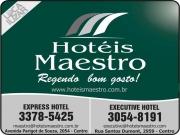 Cartão: MAESTRO EXECUTIVE HOTEL