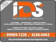 Cartão: IDS LIMPEZAS PRESTADORA DE SERVIÇOS