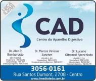 CLÍNICA DE GASTROENTEROLOGIA LUCIANO OLTRAMARI SPONCHIADO / ENDOSCOPIA / CAD CENTRO DO APARELHO DIGESTIVO