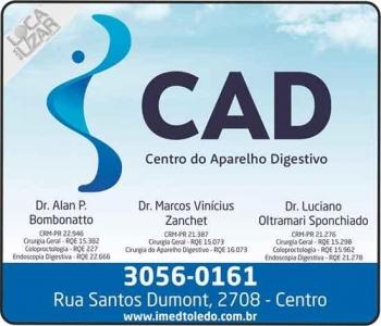 CLÍNICA CAD CENTRO DO APARELHO DIGESTIVO GASTROENTEROLOGIA