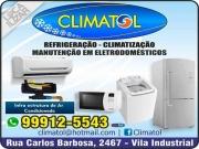 Cartão: CLIMATOL REFRIGERAÇÃO E CLIMATIZAÇÃO
