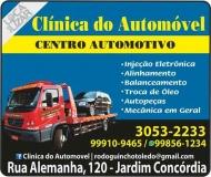 CLÍNICA DO AUTOMÓVEL MECÂNICA / CENTRO AUTOMOTIVO / GUINCHO RODOGUINCHO