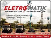 Cartão: ELETROMATIK MONTAGEM ELÉTRICA E AUTOMAÇÃO INDUSTRIAL