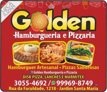 GOLDEN HAMBURGUERIA / PIZZARIA / DISK MARMITEX