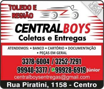 CENTRAL BOYS TELE-ENTREGA