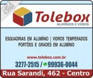 TOLEBOX VIDRAÇARIA E ESQUADRIAS EM ALUMÍNIO