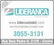 LIDERANÇA CONTABILIDADE E ASSESSORIA EMPRESARIAL / ESCRITÓRIO CONTÁBIL