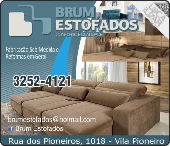 ESTOFADOS BRUM / ESTOFARIA