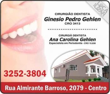 CIRURGIÃO DENTISTA GINÉSIO PEDRO GEHLEN / ENDODONTISTA