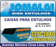 JOMALAI DISK ENTULHO / TELE ENTULHO