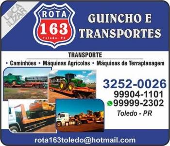 ROTA 163 GUINCHO E TRANSPORTES AUTOSSOCORRO