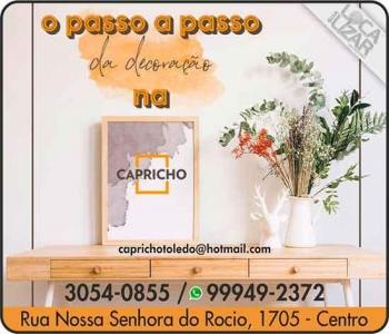 CAPRICHO MOLDURAS E DECORAÇÕES