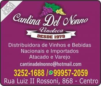 DEL NONNO CANTINA VINHOS / BEBIDAS