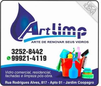 ART LIMP LIMPEZAS DE VIDROS EM GERAL