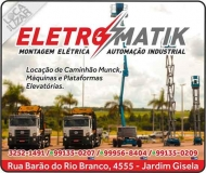ELETROMATIK AUTOMAÇÃO / MONTAGEM / MANUTENÇÃO INDUSTRIAL / ELÉTRICA