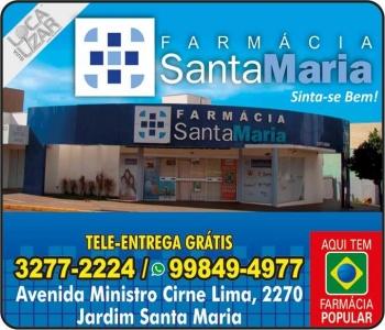 SANTA MARIA FARMÁCIA MEDICAMENTOS E PERFUMARIAS / DISK REMÉDIOS