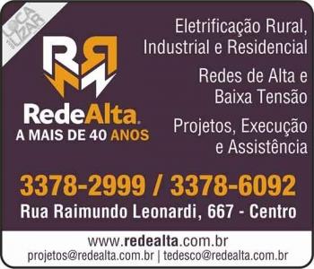 REDE ALTA ELETRIFICAÇÃO TÉCNICA EM LINHAS REDES RURAIS / INDUSTRIAIS