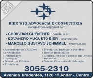 BIER WSG ADVOCACIA / CONSULTORIA