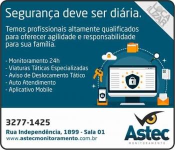 ASTEC MONITORAMENTO ELETRÔNICO E ALARMES