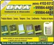 BNA DISTRIBUIDORA DE PRODUTOS DE HIGIENE / LIMPEZA / TEMPEROS