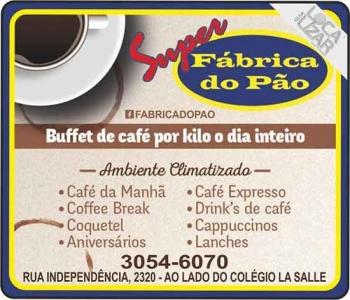 FÁBRICA DO PÃO PANIFICADORA / GUARANÁ CAFÉ CAFETERIA