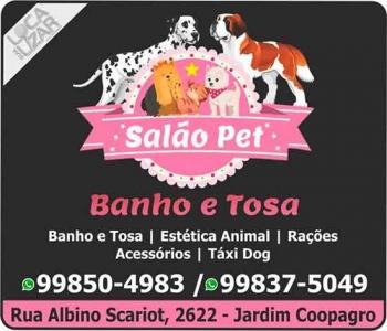 SALÃO PET SHOP / ESTÉTICA ANIMAL