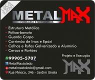 METALMAX FUNILARIA E METALÚRGICA