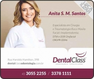 CIRURGIÃO DENTISTA ANITA S. M. SANTOS / IMPLANTODONTISTA / DENTAL CLASS