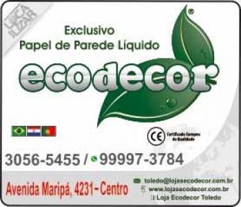 ECODECOR PAPEL DE PAREDE LÍQUIDO