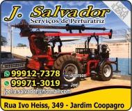 J SALVADOR PERFURAÇÃO DE SOLO
