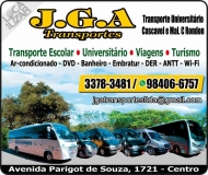 JGA TRANSPORTES UNIVERSITÁRIO E ESCOLAR