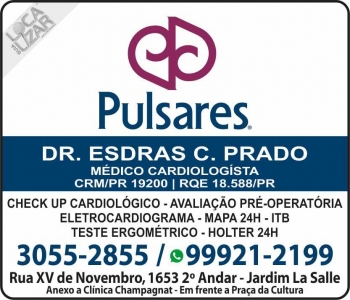 CLÍNICA DE CARDIOLOGIA PULSARES Dr. ESDRAS CANFIELD PRADO