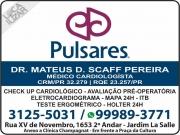 Cartão: CLINICA DE CARDIOLOGIA PULSARES Dr. MATEUS D. SCAFF PEREIRA