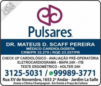 CLINICA DE CARDIOLOGIA PULSARES Dr. MATEUS D. SCAFF PEREIRA