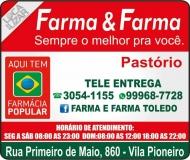 FARMA & FARMA FARMÁCIA MEDICAMENTOS E PERFUMARIAS / DISK REMÉDIOS