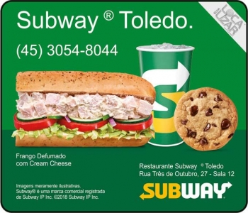 SUBWAY FAST FOOD / LANCHES / RESTAURANTE