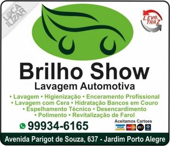 BRILHO SHOW LAVA CAR